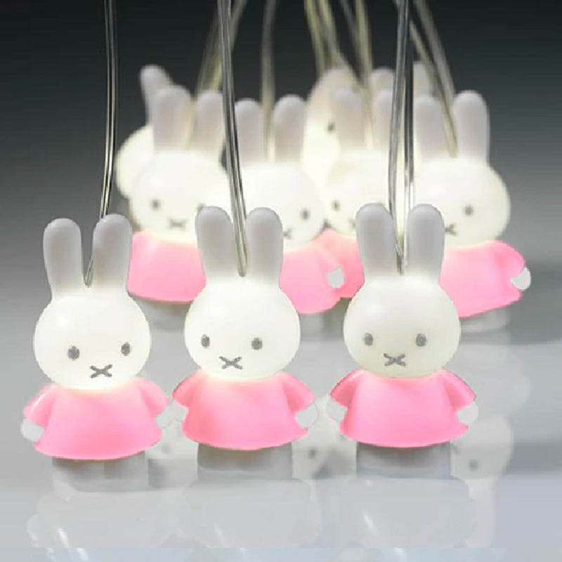 Bambolino Miffy 3D Stringlight , Pink
