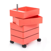 Magis 360° Container by Konstantin Grcic 5 Drawers Pink