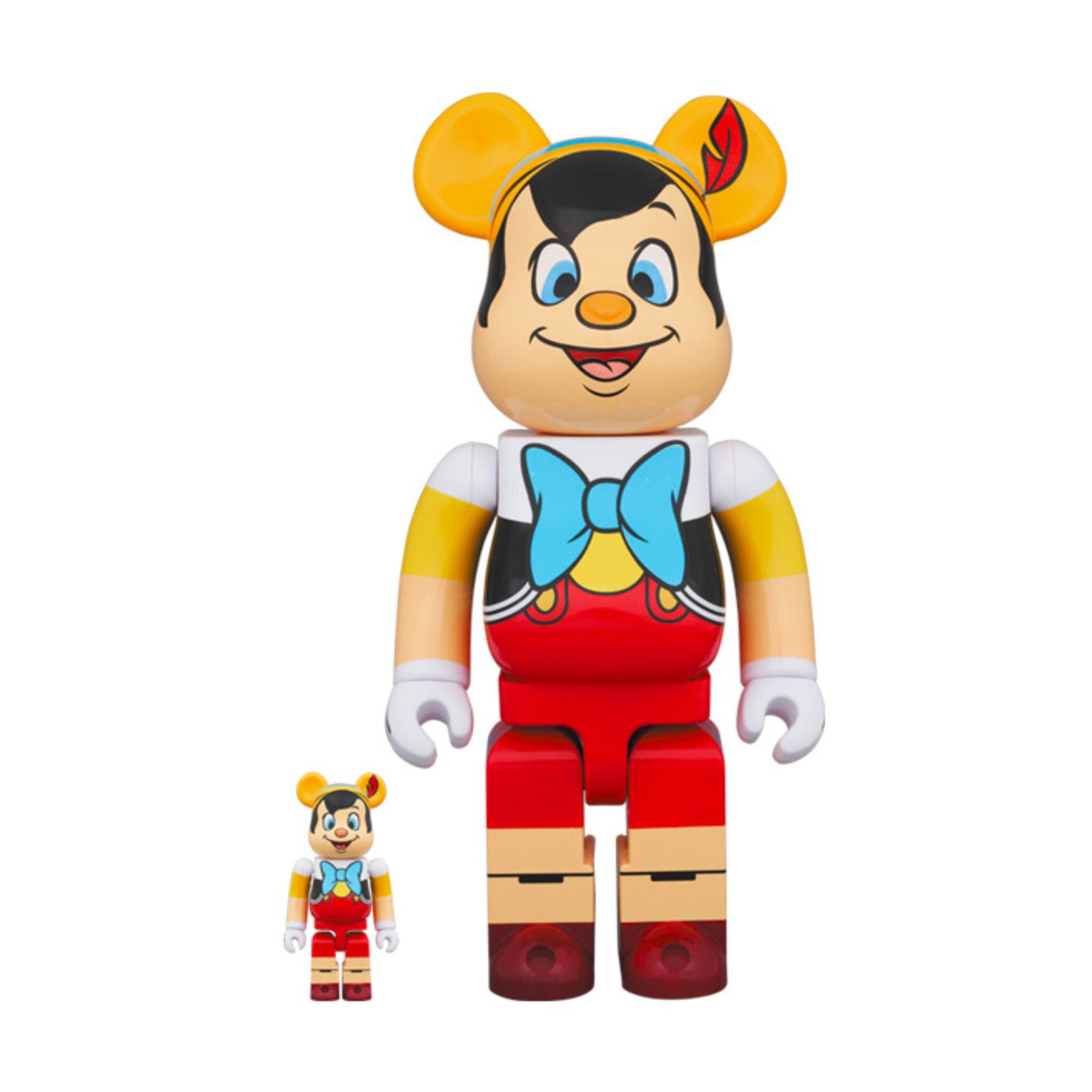 BE@RBRICK Pinocchio 100% & 400% (To be shipped in late April 2021)