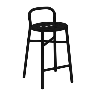 Magis Pipe Bar Stool Outdoor 67/77cm