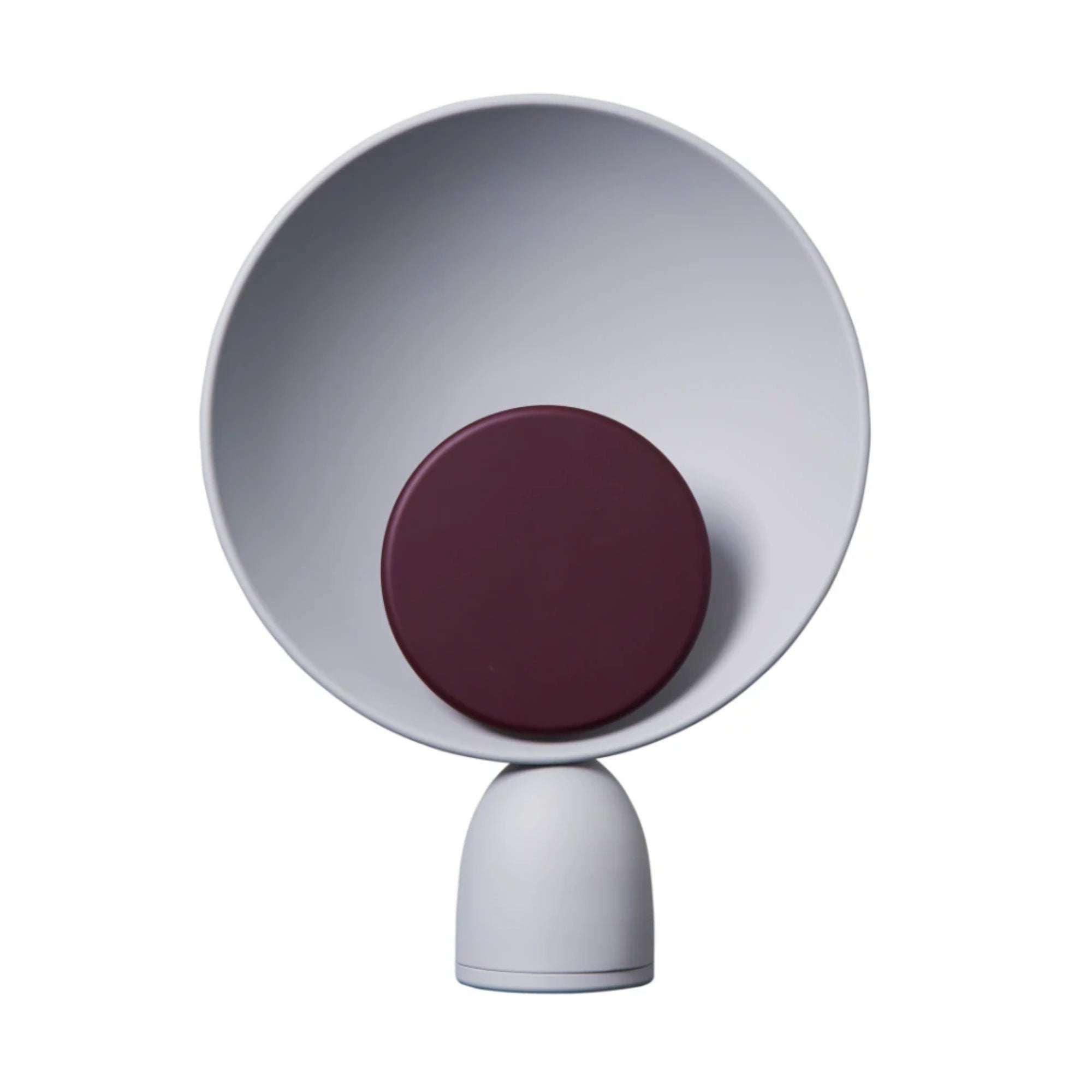 Please Wait to be Seated Blooper Table Lamp , Purple