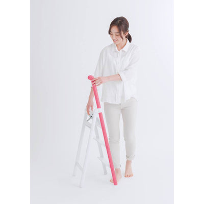 Hasegawa Handle step ladder, 3 steps, pink