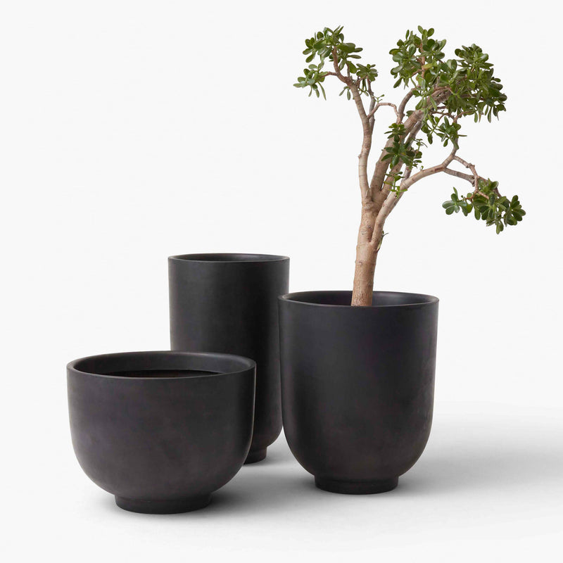&Tradition SC45 &Tradition Collect ƒ Planter, shadow grey