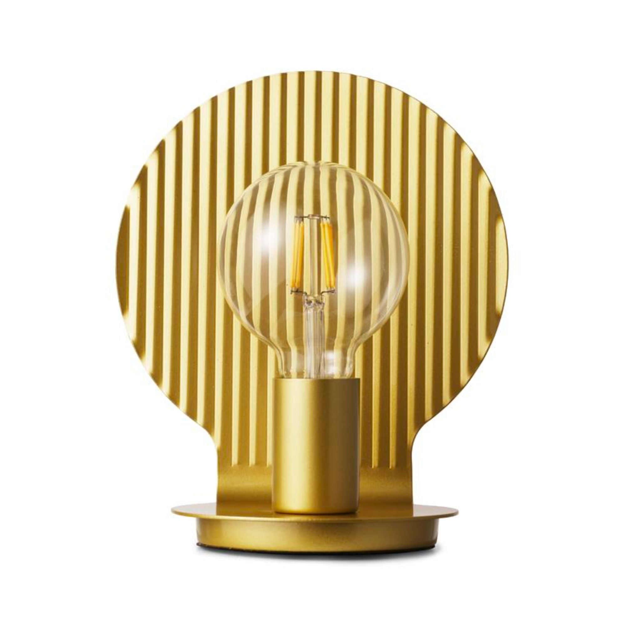 Normann Copenhagen Plate Lamp , Gold