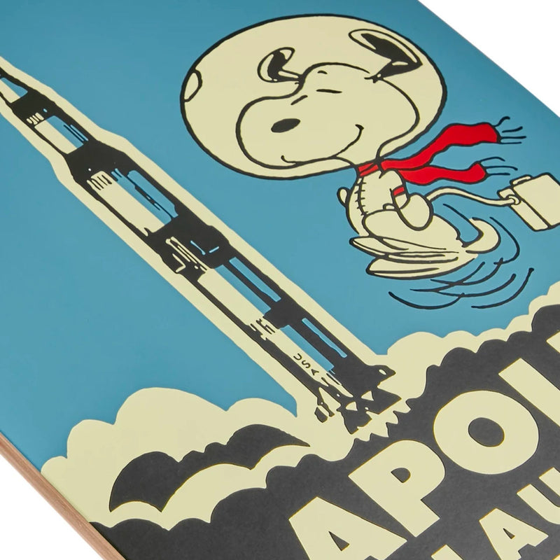 The Skateroom skateboard, Peanuts By Charles M. Schulz Apollo Launch