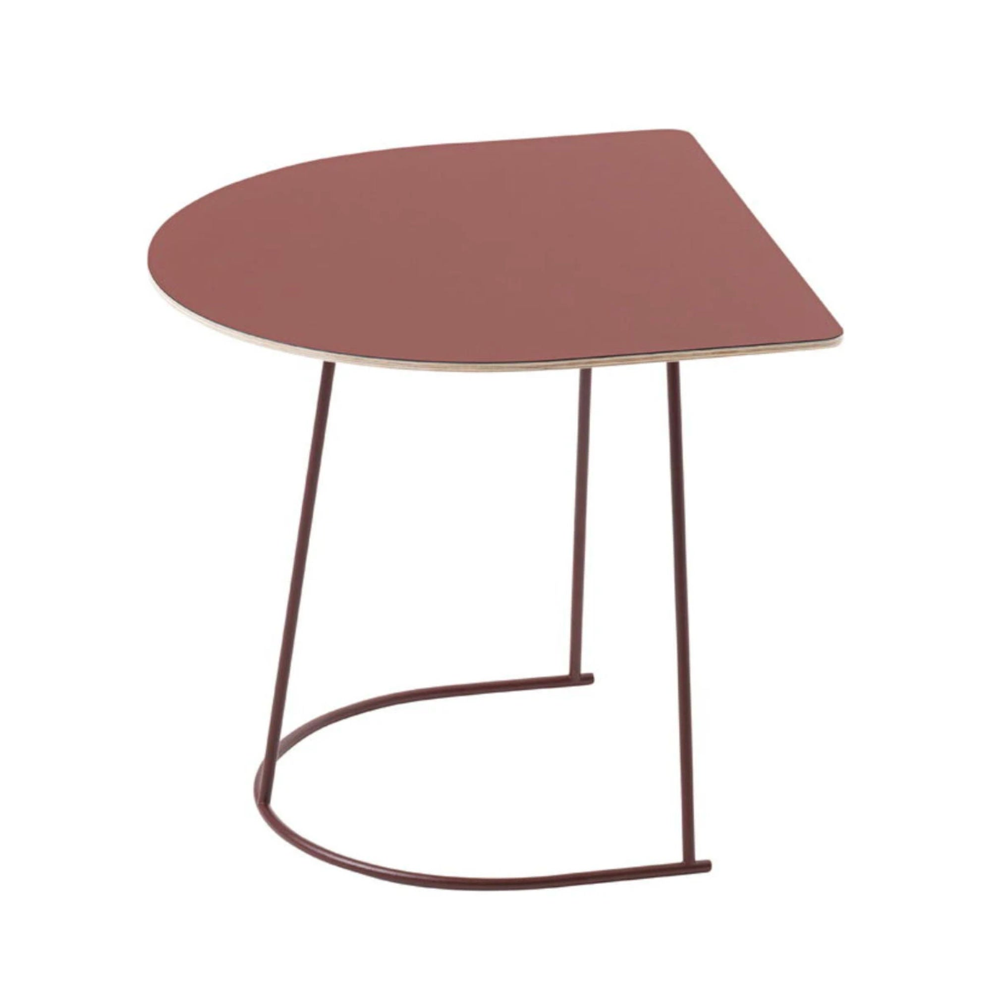 Muuto Airy Coffee Table Half Size , Plum