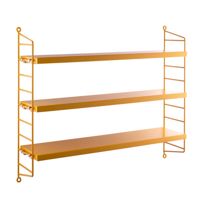 String Pocket Shelf , Mustard