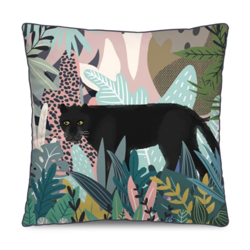 Podevache Cushion Cover , Leopard