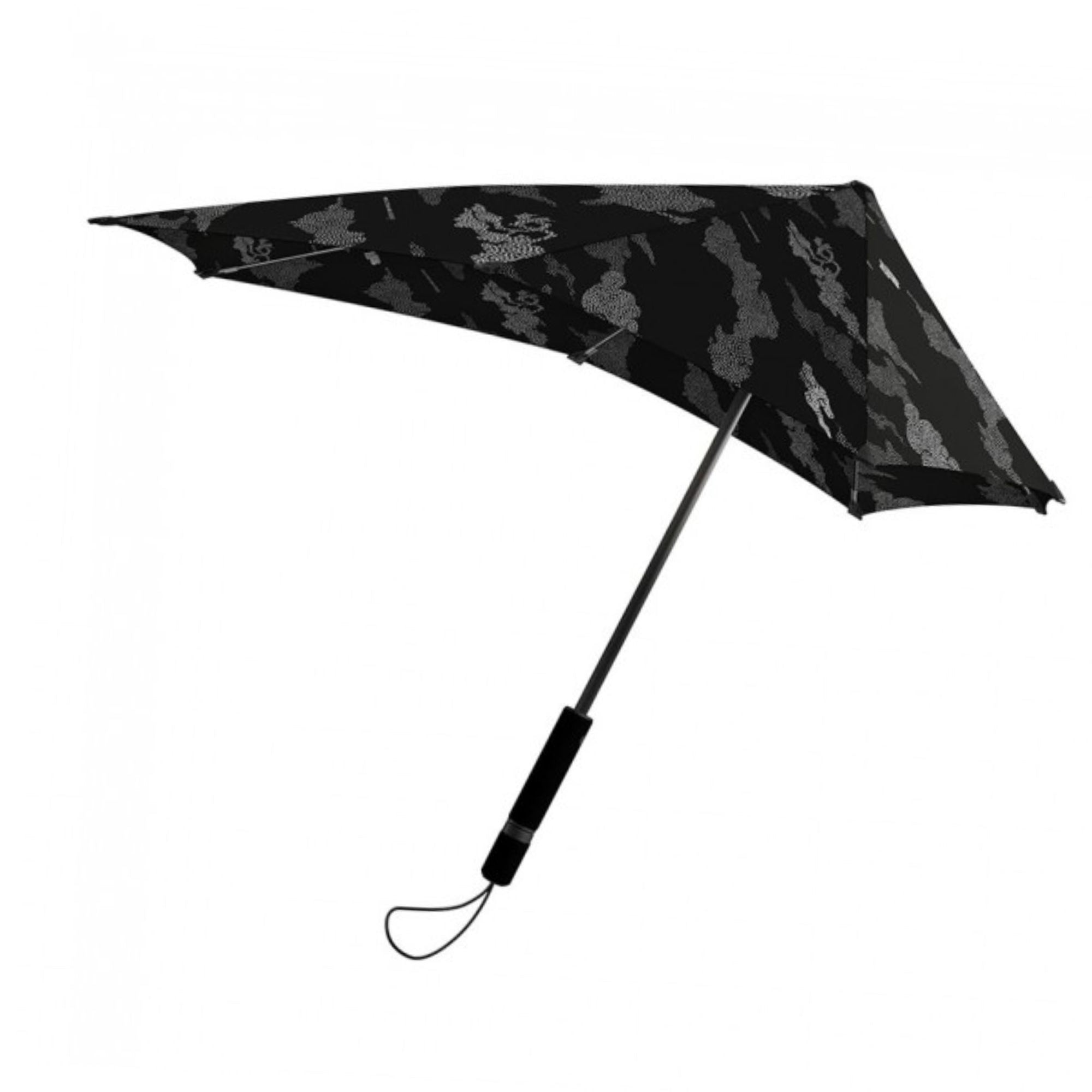 Senz° X DPM Original storm umbrella, pointillist bonsai