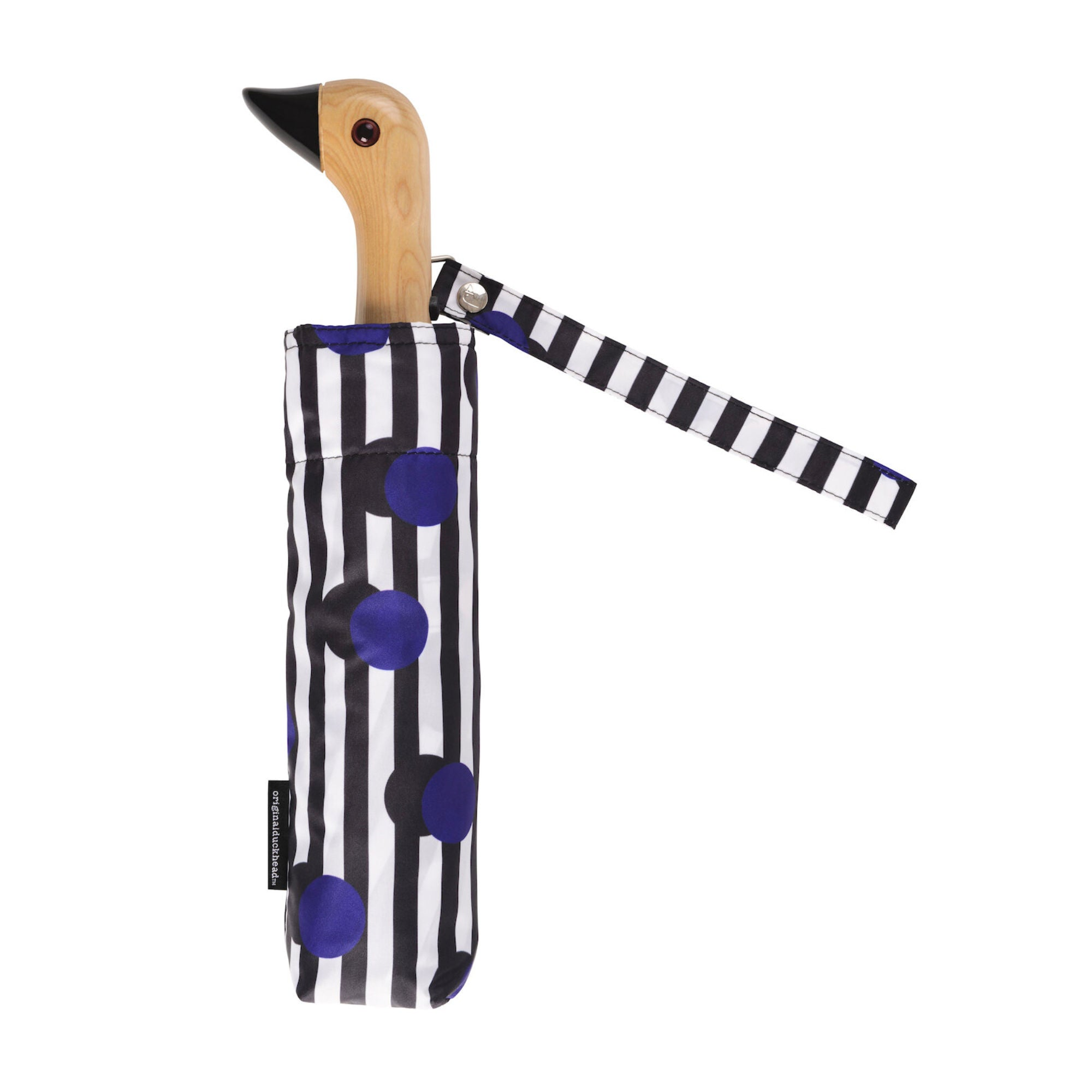 Original Duckhead Umbrella , Polkastripe