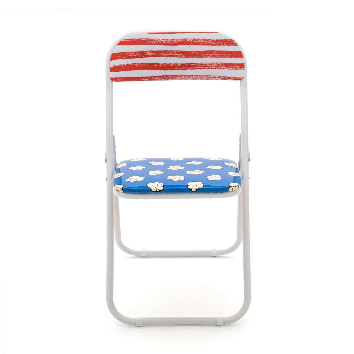Seletti Studio Job Blow folding chair pop corn
