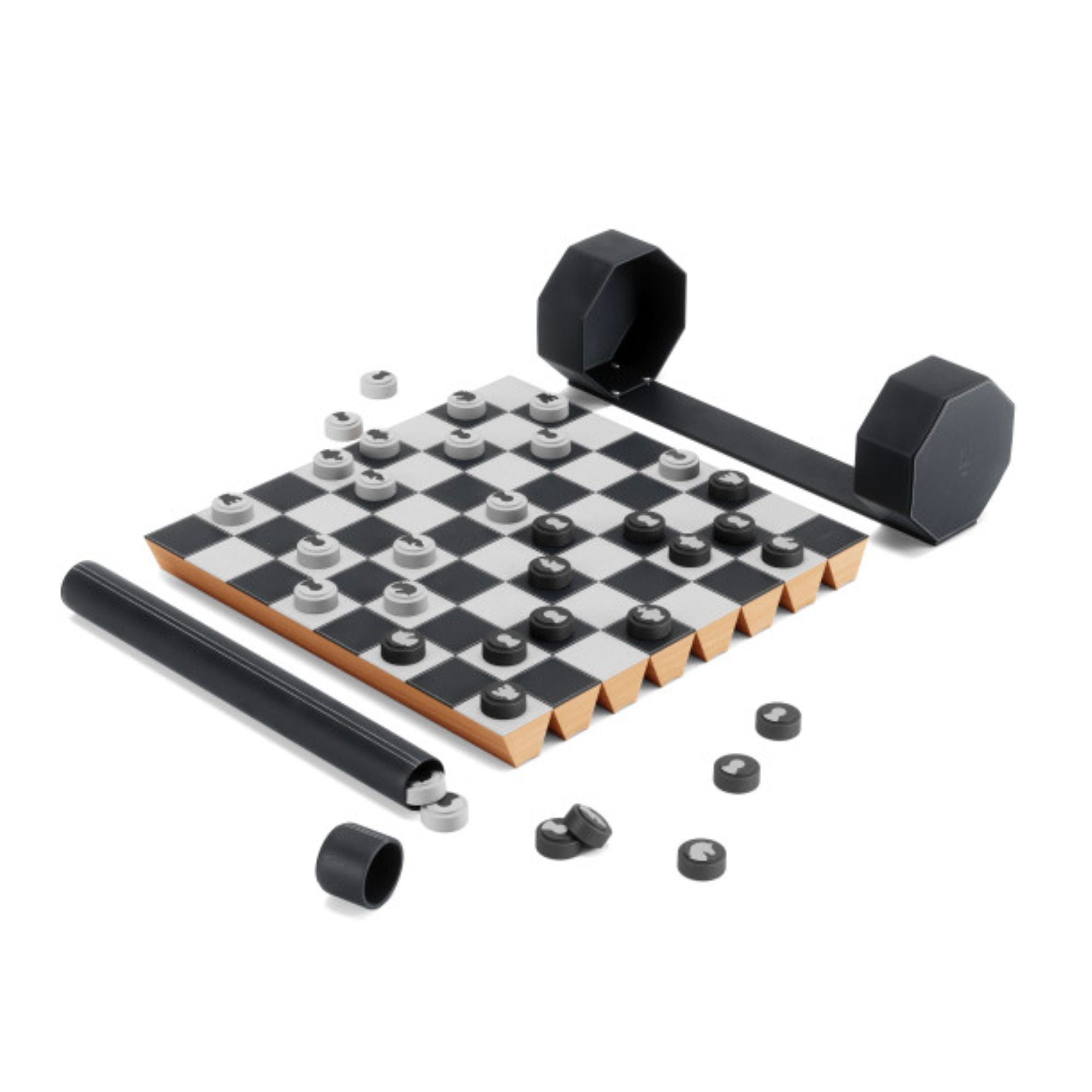 Umbra Rolz Chess/Checkers Set