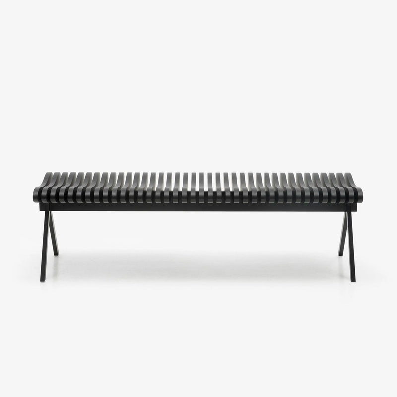 Peruse Prelude bench, oak black