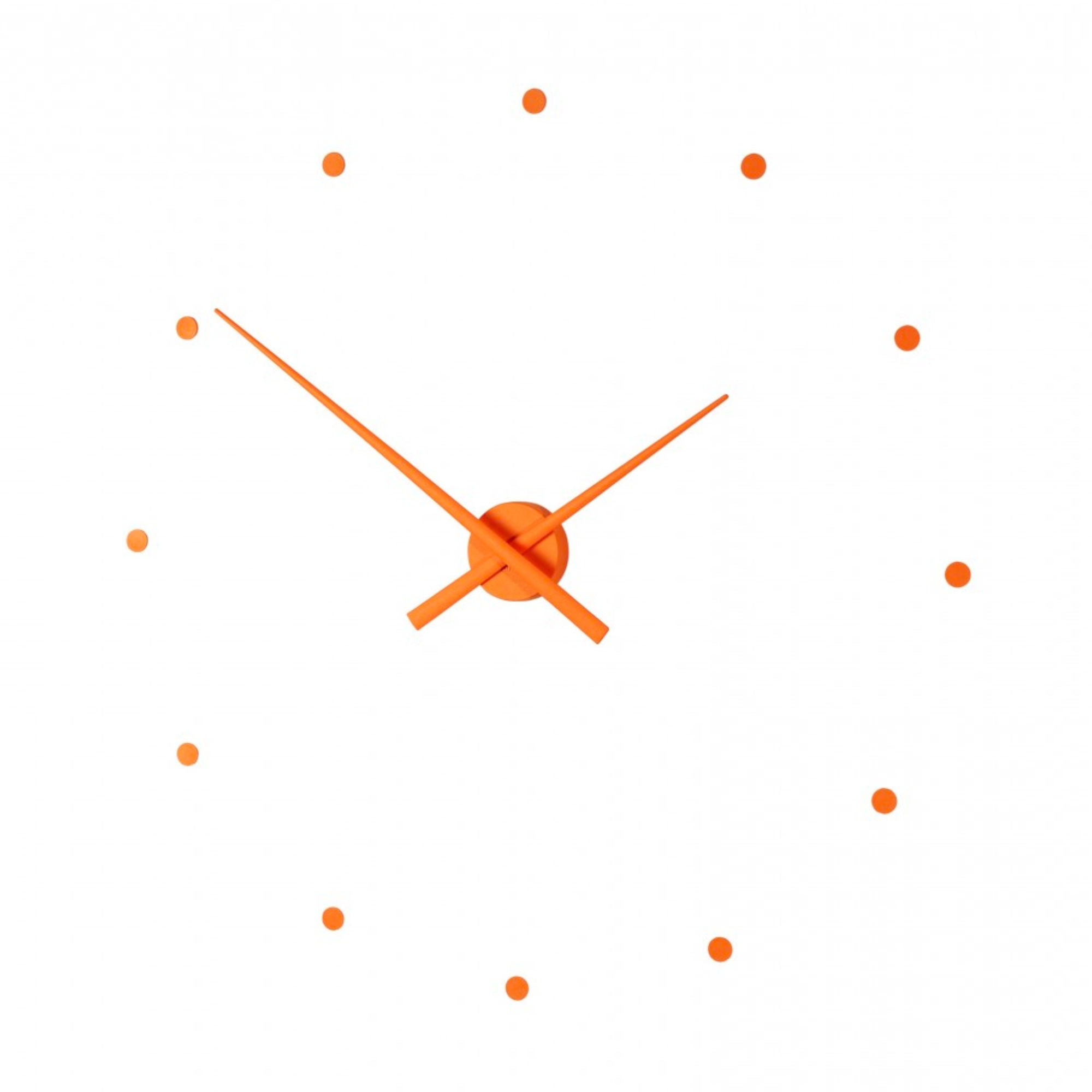 Nomon OJ Wall Clock , Pumpkin