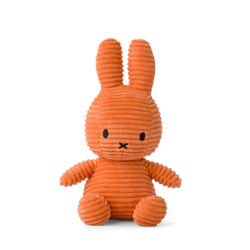Miffy Corduroy Plush 23cm , Pumpkin Orange