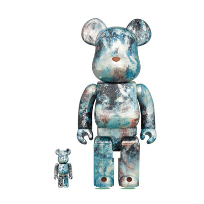 BE@RBRICK Pushead #5 100 & 400%
