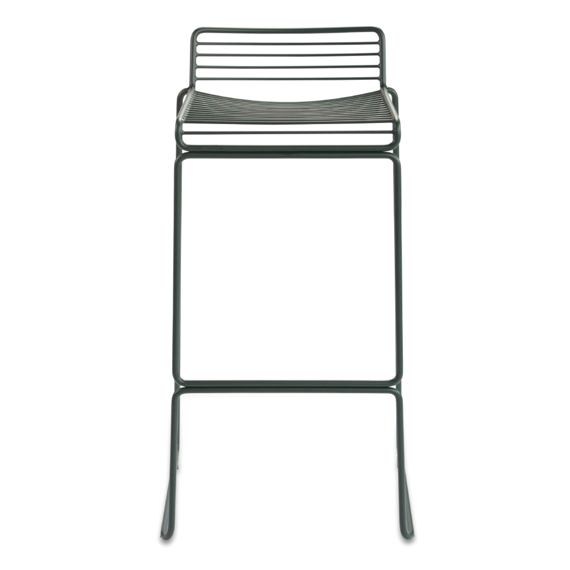 Hee Bar Stool High H75 , Racing Green