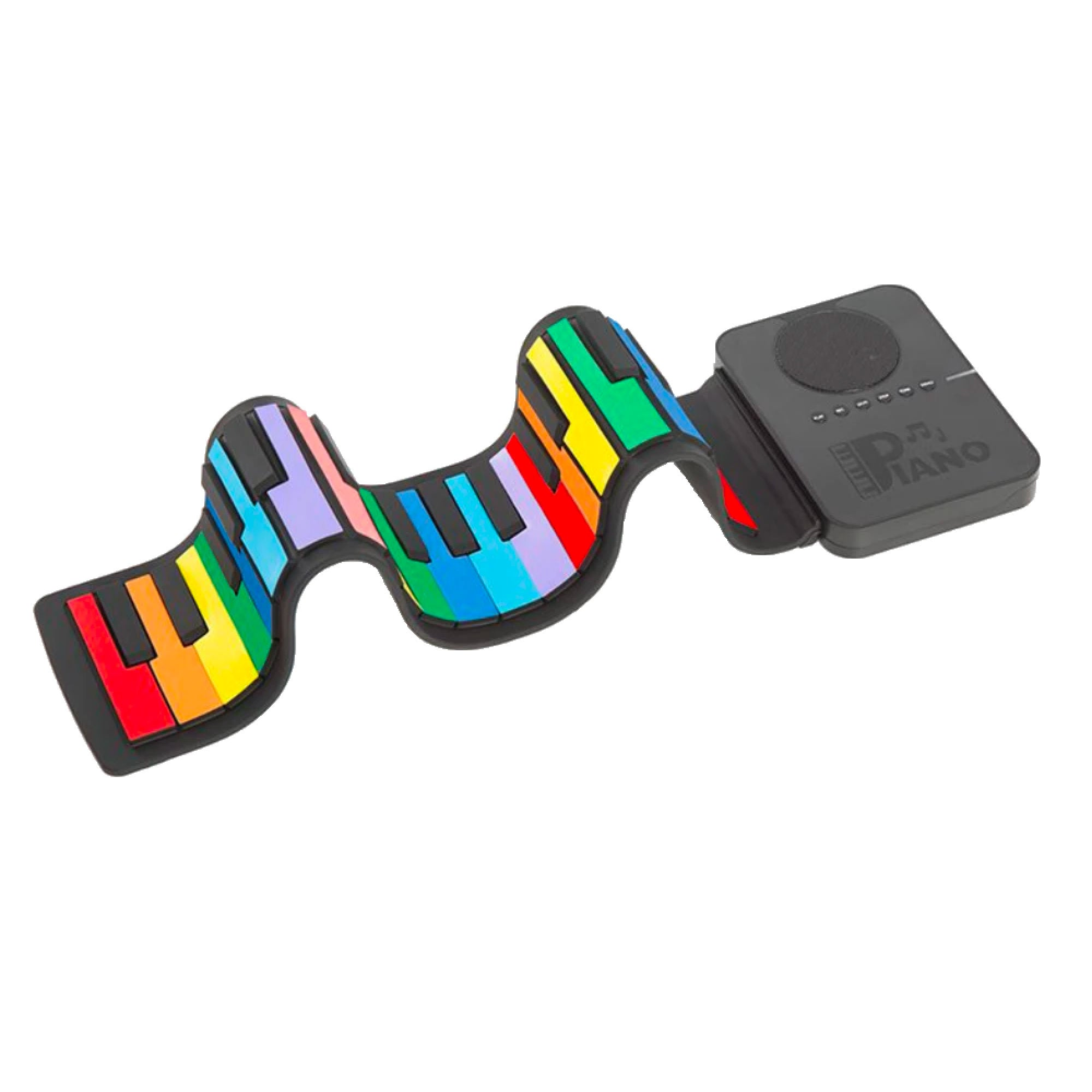 Roll-Up Piano 37Keys , Rainbow