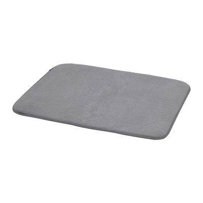 Umbra Udry Dishrack w. Drying Mat , Charcoal