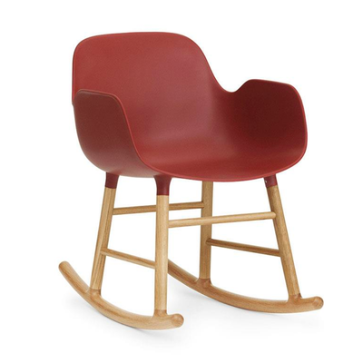 Normann Copenhagen Form Rocking Armchair Oak Leg