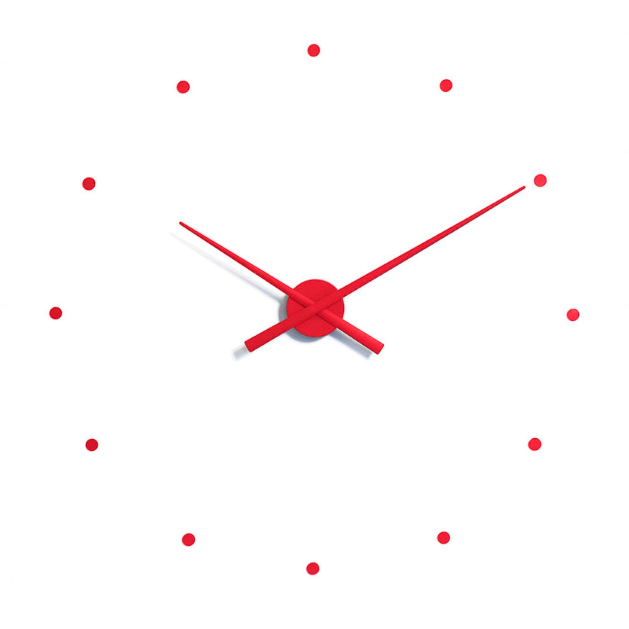 Nomon OJ Wall Clock , Red