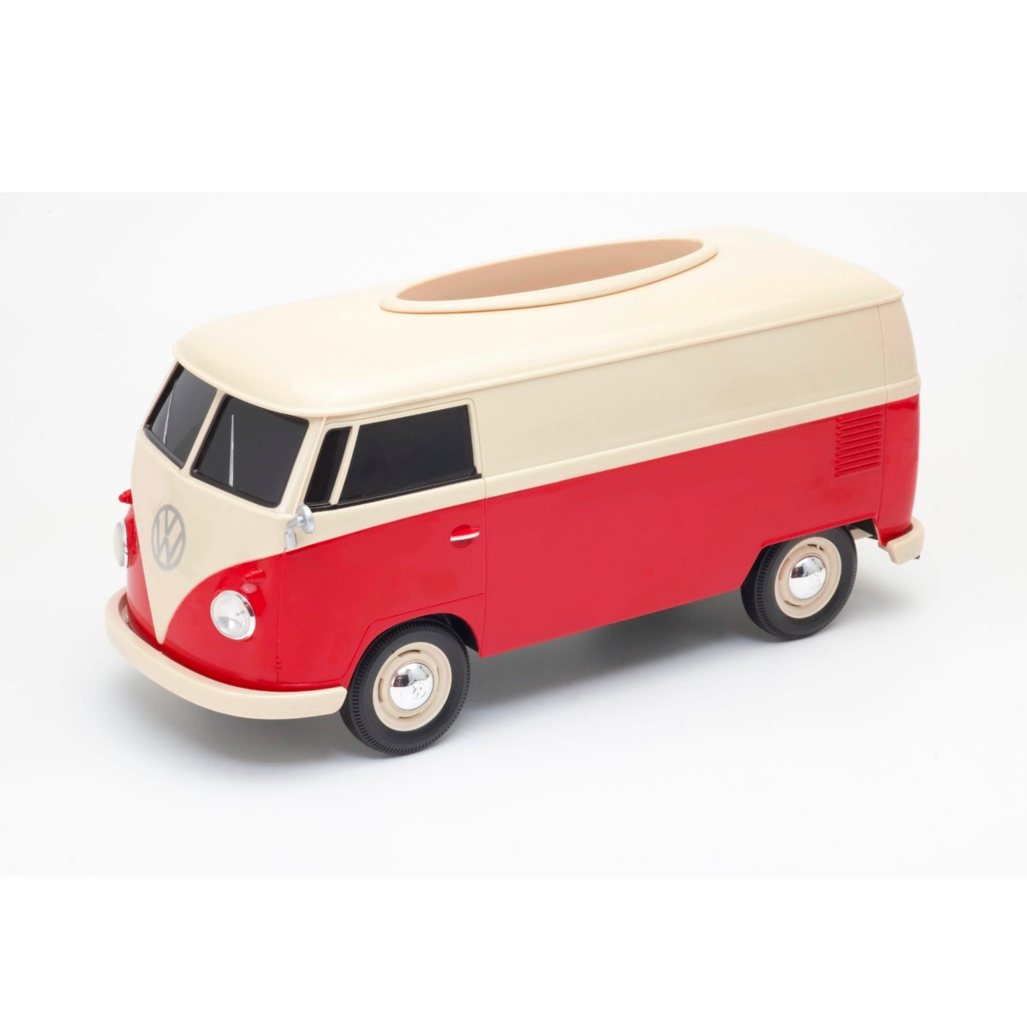 Volkswagen VW T1 Bue 1:16 Tissue Box , Red-Cream