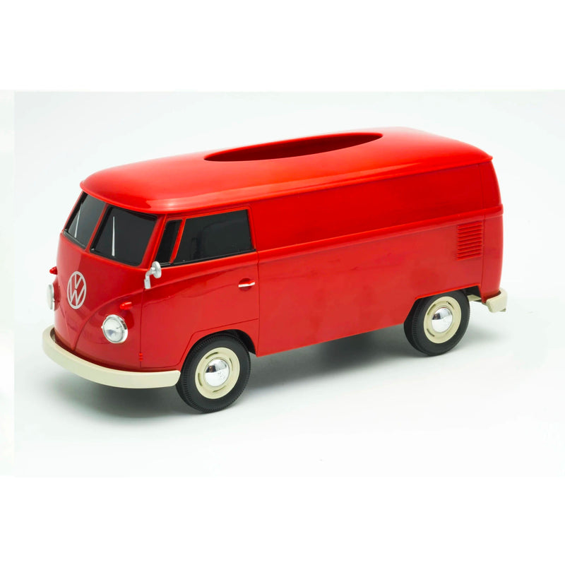 Volkswagen VW T1 Bue 1:16 Tissue Box , Red