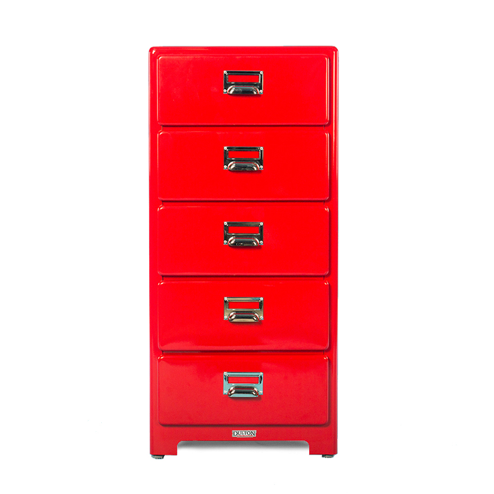 Dulton 1 Column by 5 Drawers Chest