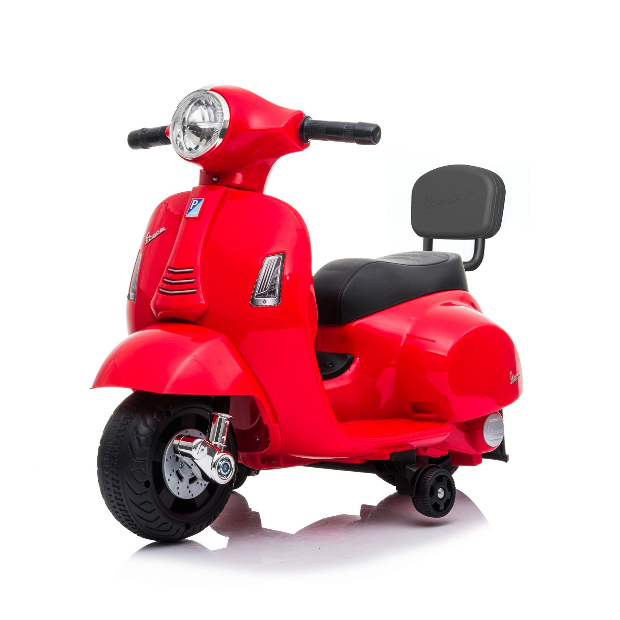 Mini Vespa GTS Scooter 6V Electric Ride On , Red