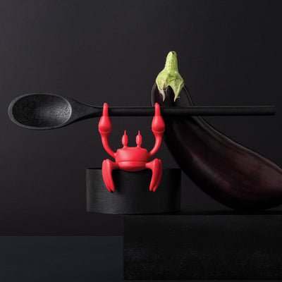 Ototo Design Red Crab Spoon Holder & Steam Releaser