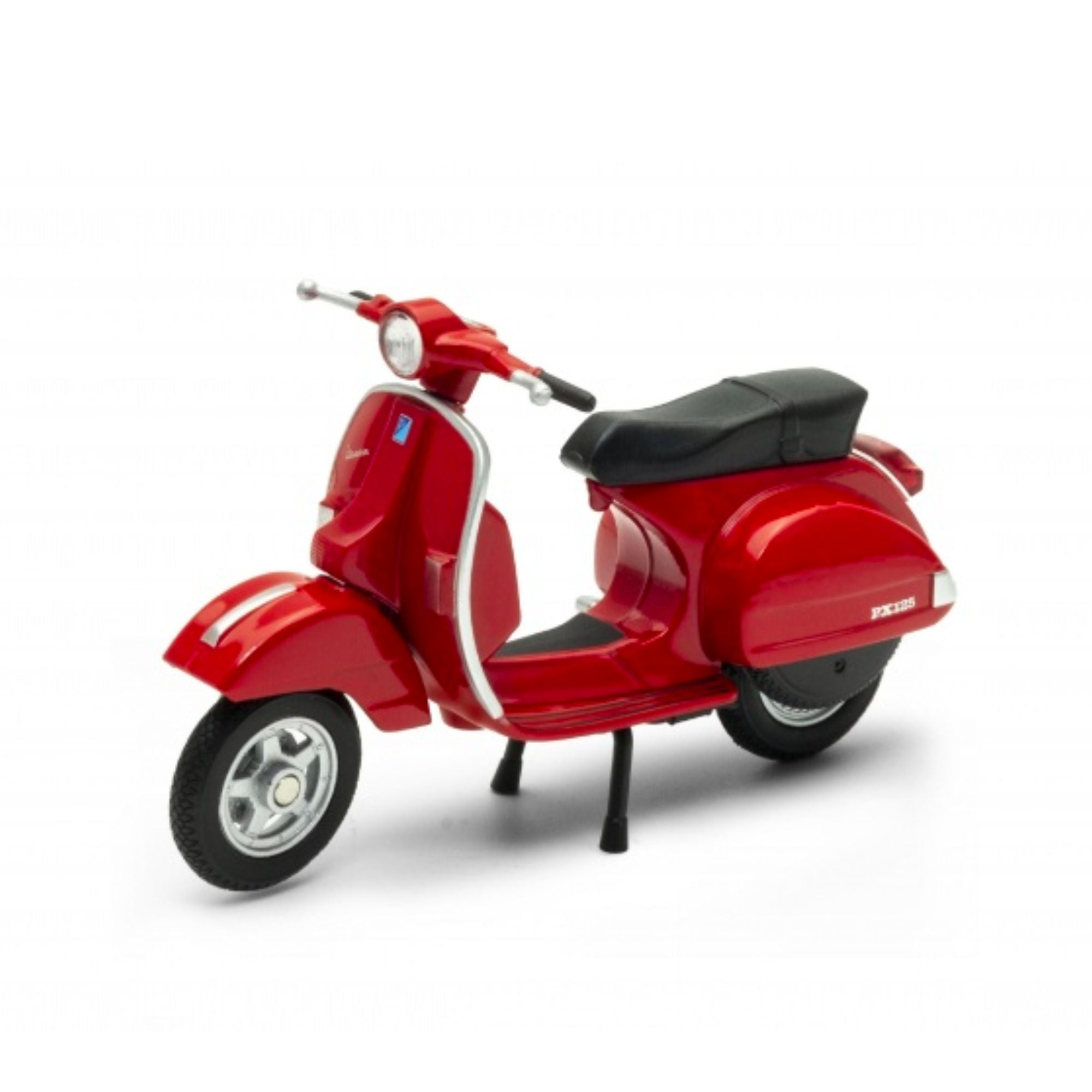 Welly Vespa PX 1:24 Diecast Model , Red