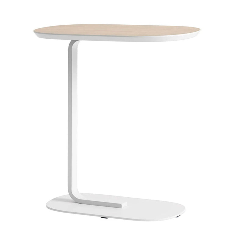 Muuto Relate Side Table , Oak-Off White