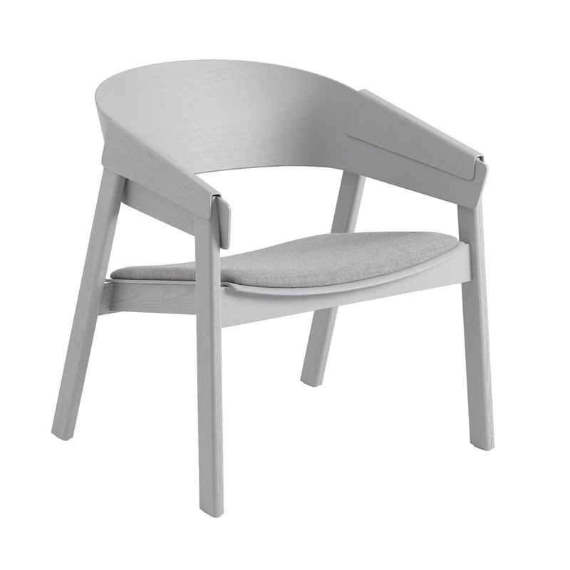 Muuto Cover lounge chair, remix123grey/PU lacquer