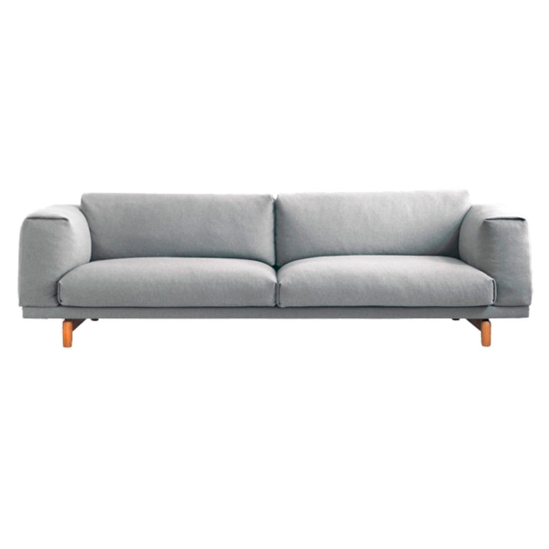 Muuto Rest Sofa 3-Seater 260 * 92cm Steelcut Trio 133