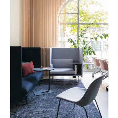 Muuto Outline Highback Work, black base, right