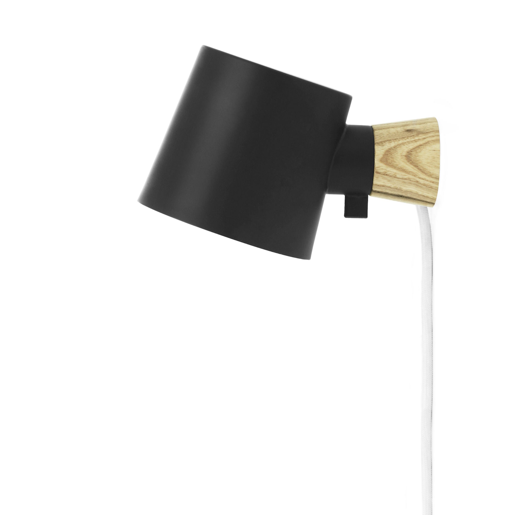 Normann Copenhagen Rise wall lamp, black