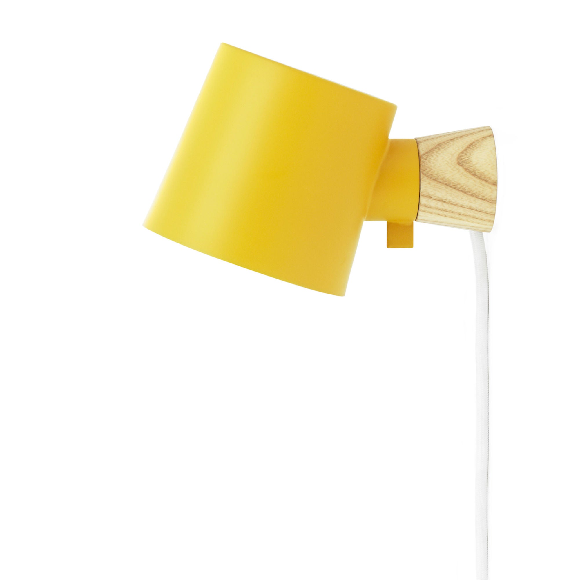 Normann Copenhagen Rise wall lamp, yellow