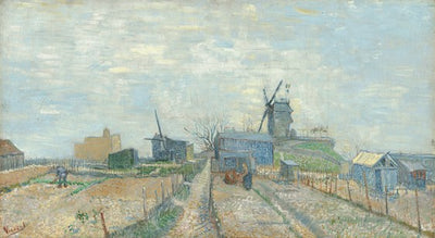 Van Gogh IXXI Montmartre: Windmills and Allotments