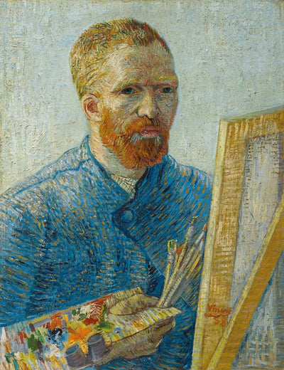 Van Gogh IXXI Self-portrait as a painter