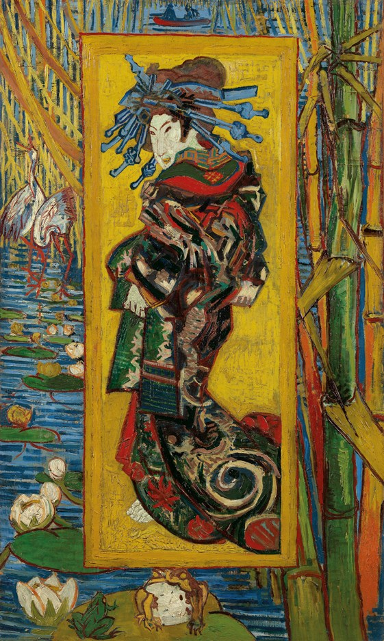 Van Gogh IXXI Courtesan: after Eisen