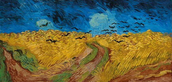 Van Gogh IXXI Wheat field with Crows