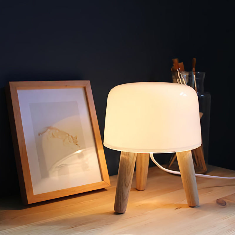 &Tradition NA1 Milk Table Lamp , Natural Ash