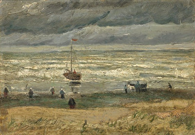 Van Gogh IXXI View of the sea at Scheveningen