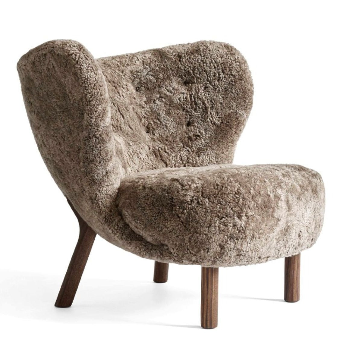 &Tradition Little Petra VB1 lounge chair, sheepskin 17mm sahara