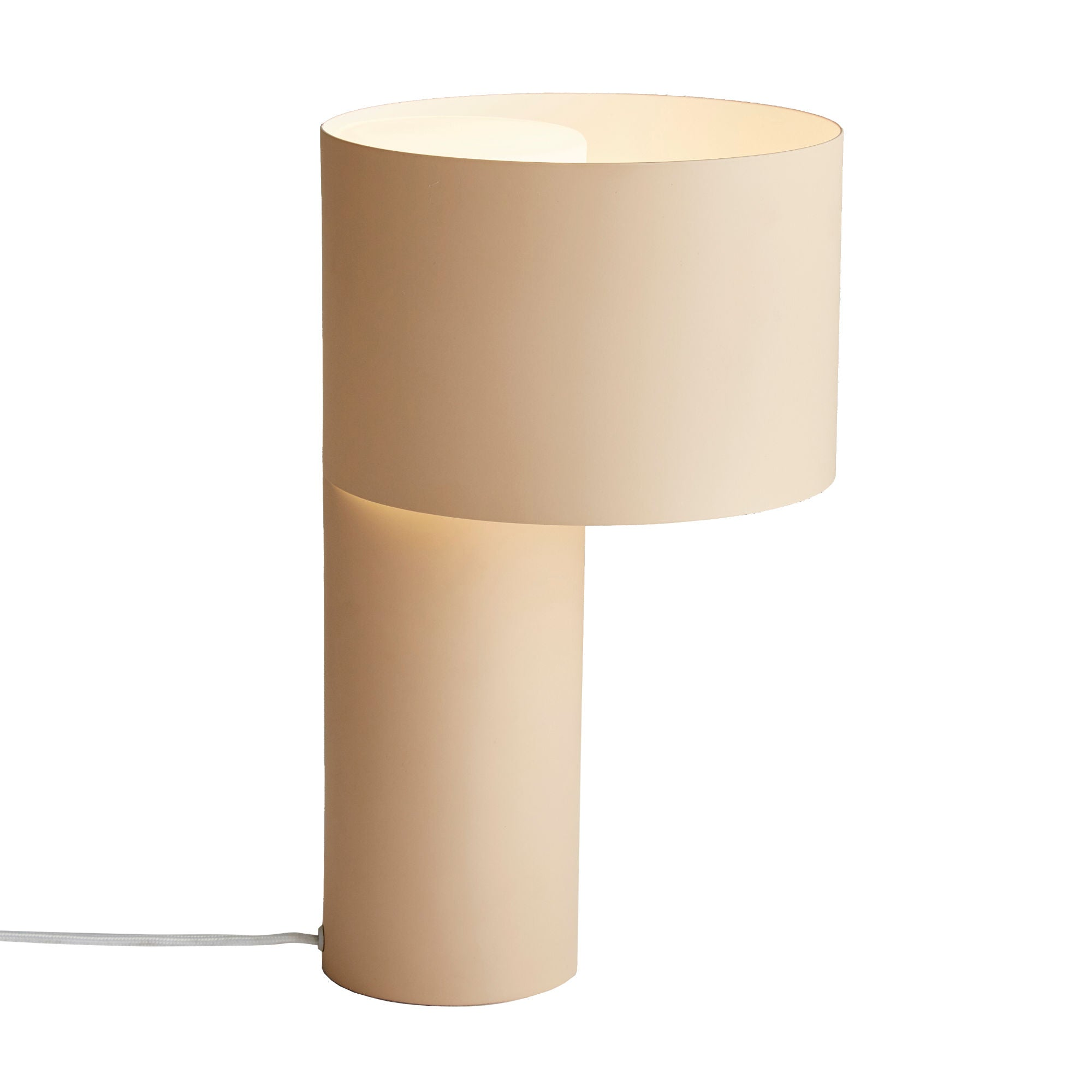 Woud Tangent Table Lamp , Desert Sand