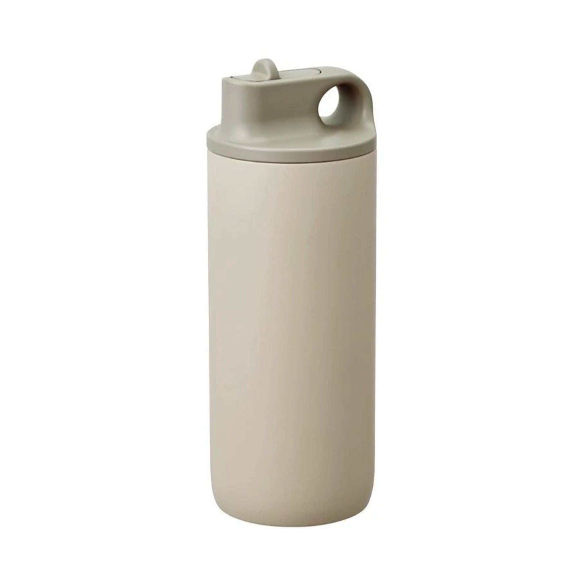 Kinto Active Tumbler Water Bottle 600ml , Sand Beige