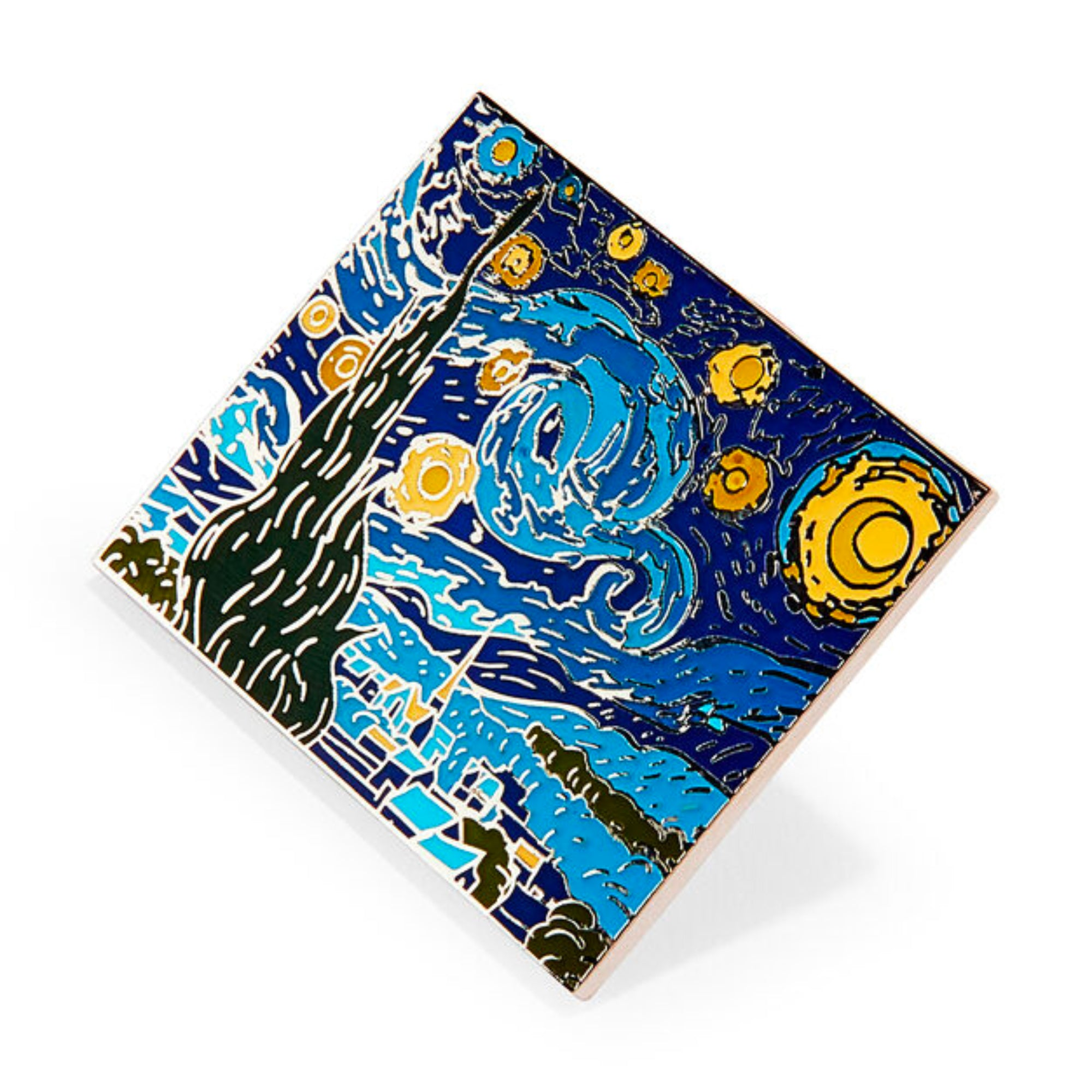 MoMA Vincent van Gogh: Starry Night Enamel Pin