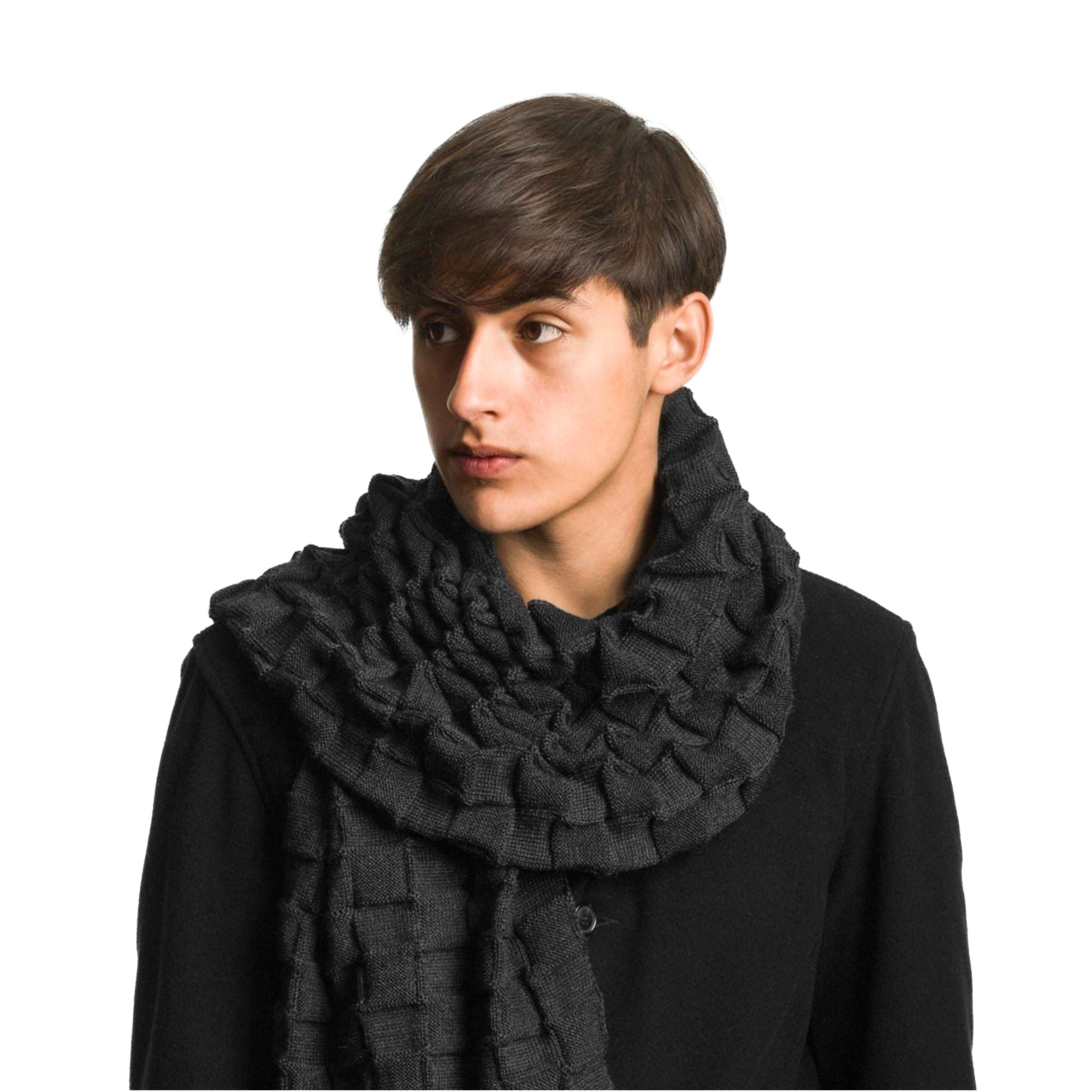 Design House Stockholm Curly Scarf , Anthracite