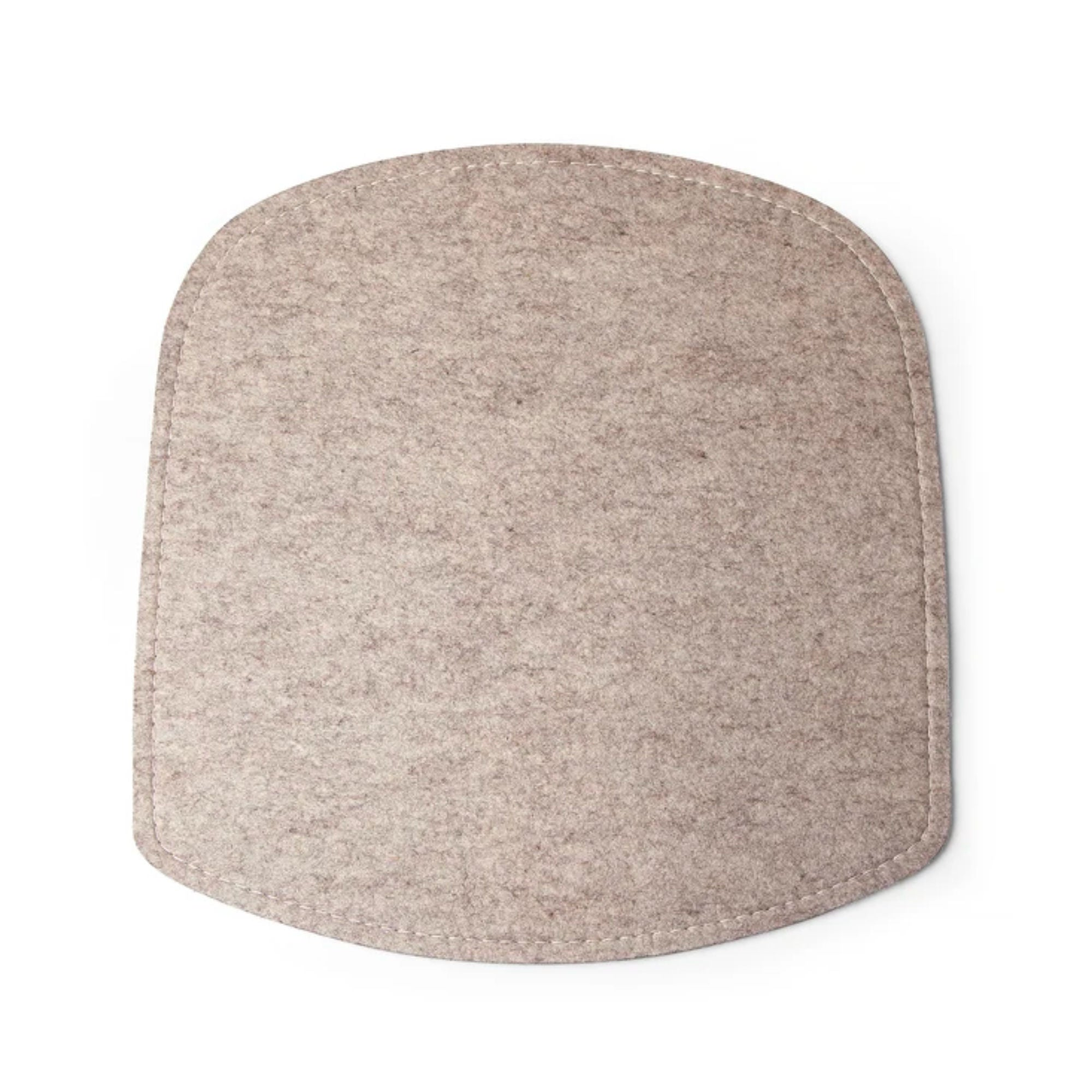 Design House Stockholm Wick Felt Chair Cushion , Beige