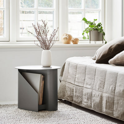 Woud Sentrum Side Table , Taupe